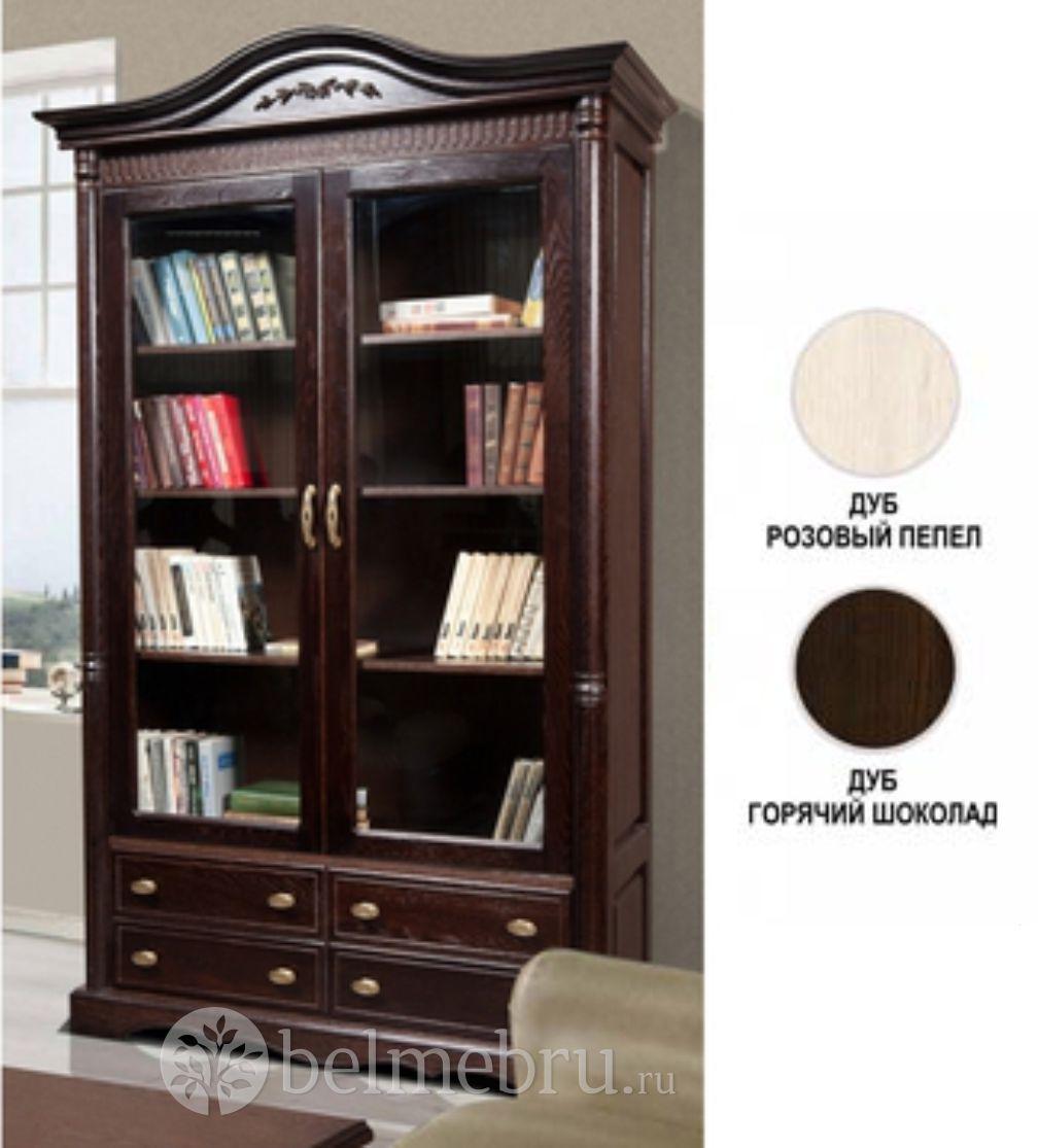 Книжный шкаф бм-2151 паола.